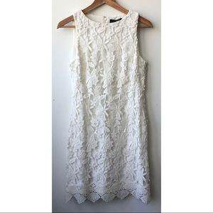 Ralph Lauren White Lace Summer Mini Dress size 8P
